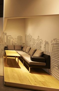 Sofa, Andaz Tokyo Toranomon Hills.Lear more at vossy.com #tokyo