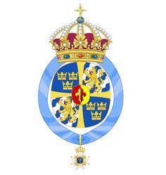Coat of Arms of Queen Silvia of Sweden