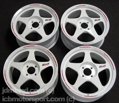 Desmond regamaster evo white Jdm Wheels, Wheels And Tires, 4 Lug Rims, Civic Eg, Evo X, Rims For Cars, Suzuki Swift, Custom Wheels, Ford Focus