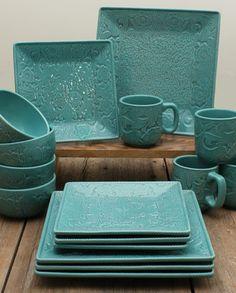 Savannah 16 Piece Dinnerware Set :: Kitchenware :: Decor & Gifts :: Fort Western Online