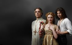 "Just started watching the first season of ""The Borgias""..Jeremy Irons is amazing..gorgeous costumes, sex, scandal, poisonings...what's not to like?"