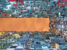 Apartments stand tall in the Hong Kong night sky in this National Geographic Your Shot Photo of the Day. Hong Kong Night, Architecture Unique, National Geographic Travel, Shot Photo, Travel Photographer, Photo Contest, Land Scape, Amazing Photography, Photography Composition