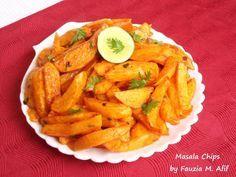 Masala Chips   Fauzia's Kitchen Fun