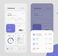 Money Manager by Max Panchyk Ui Design Mobile, App Ui Design, Flat Design, Dashboard App, Dashboard Design, Moodboard App, Mobile Ui Patterns, Card Ui, App Design Inspiration