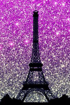 Purple Eiffel Tower glitter wallpaper I created for the app CocoPPa. Glitter Phone Wallpaper, Pink Wallpaper Backgrounds, Paris Wallpaper, Tumblr Wallpaper, Galaxy Wallpaper, Nature Wallpaper, Cute Wallpapers, Sparkle Wallpaper, Trendy Wallpaper