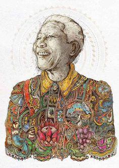 20+ best fanart tribute to Nelson Mandela