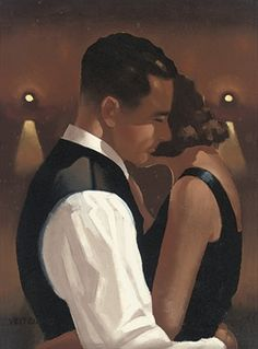 'Dancing Couple' - Jack Vettriano ______________________________ ♥♥♥ deniseweb.free.fr ♥♥♥