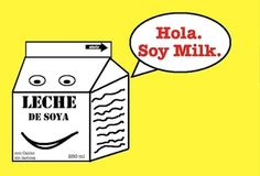 Spanish Chiste Soy Milk Poscard Set of 50 $5.00. (10 cents each)