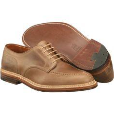 Alden Men's NST Tie With Pre-Stitch Style #: 24231 Ntural Chrome Excel  | #TheShoeMart   #alden #shoes | OOS