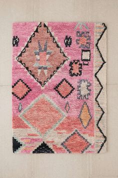 Check out the Mavi Boucherouite Shag Rug in Rugs, Rugs & Flooring from Urban Outfitters for Diy Carpet, Wall Carpet, Rugs On Carpet, Staircase Carpet Runner, Urban Outfitters Rug, Beni Rugs, Shag Rugs, Square Rugs, Berber