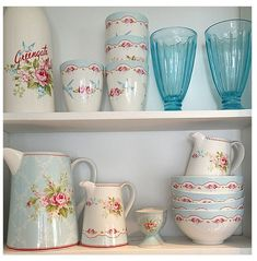 Greengate So pretty love the colors!