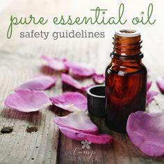 Pure Essential Oil Safety Guidelines - Camp Wander