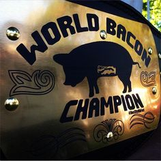 World Bacon Champion Team Diva Q