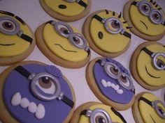 Minion Cookies/ Cupcakes - Minion Cookies