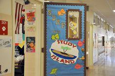 Surf door Study Island, Bulletin Boards, Surfing, Fun, Bulletin Board, Surf, Surfs Up, Surfs, Data Boards