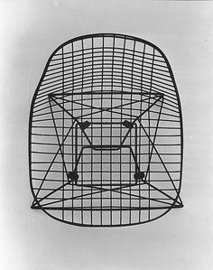 kaitolovesthis:  WIRE CHAIRby Charles and Ray Eames x Herman Miller