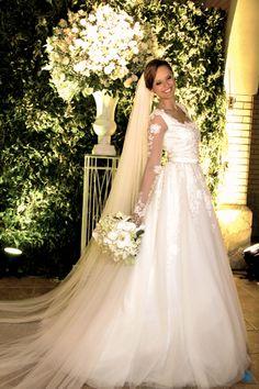 Casamento Nathália & Carlos #casamento #wedding #noiva #bride #love #amor #vestido #dress #renda