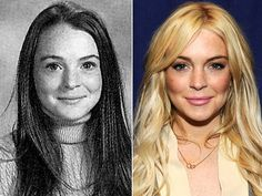 Lindsay LohanIt's Parent Trap star Lindsay Lohan, photographed in 2001 for her freshman year portrait at Cold Spring Harbor High School in Cold Spring Harbor, N.Y. Two years later, in 11th grade, Lohan began home schooling due to her demanding acting schedule.