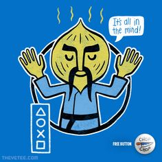 All in the mind! By JP Coovert, today at The Yetee!