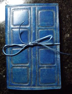 it's River Songs diary.. very cool Hand tooled leather eReader ebook cover case Nook by flaquito242, $60.00