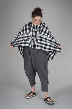 Moyuru Trouser S/S 2018 mo180048 | Walkers.Style