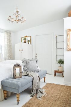 Nothing Brings The Wow Factor Quite Like White. And This Gorgeous Guest Room,  Courtesy