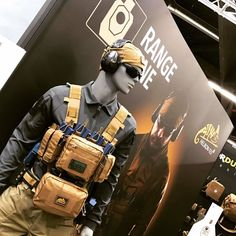Helikon-Tex Training Mini Rig at IWA Outdoor Classics 2017 http://zimedc.blogspot.com/2017/03/helikon-tex-training-mini-rig.html #Military #Tactical #Guns