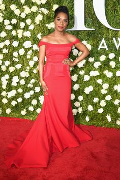 Michelle Wilson attends the 2017 Tony Awards at Radio City Music Hall on June 11, 2017 in New York City.