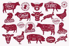 Big Butchery Set - Logos