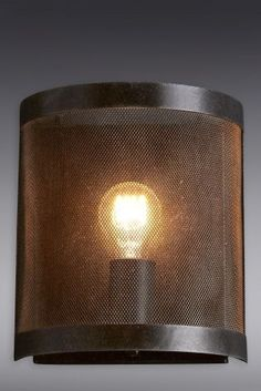 Buy Rustic Mesh Wall Light from the Next UK online shop