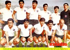 Colo Colo of Chile team group in Hugo Gonzalez, Soccer, Football, America, Retro, Couple Photos, Grande, 1960s, Group