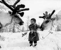 Nomadic Dukha herders in Mongolia, 2007, by Jeroen Toirkens
