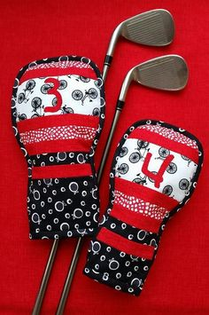 Looking for your next project? You're going to love Golf Club Head Cover Lots of Stripes by designer Jean Kirol.
