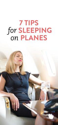 how to sleep on planes #travel