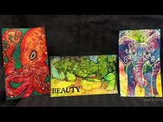 Shel C created these wonderful Index Cards!!! ICAD Index Card a Day Challenge - Days 27, 28, 29 - YouTube