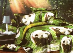 Prestieradlo 3D efekt Panda, Painting, Fictional Characters, Blankets, Bedding, Painting Art, Bed Linens, Paintings, Blanket