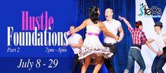 Hustle Foundations Workshop Part 2: At Steps Dance Studio