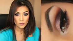 JACLYN HILL PALETTE TUTORIAL...SHADES OF MAROON. PERFECT FOR DAY OR NIGHT!!!! https://www.youtube.com/watch?v=Moqx5JJjS_c
