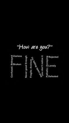 When I say I'm fine.. #howtogetridofdeppresion