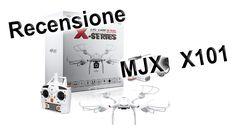 Recensione MJX X101 - Drone economico per divertirsi ed iniziare a far riprese