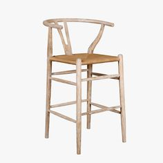 Our Scandi Natural Counter Stool embodies the natural, coolly direct spirit of Scandinavian Modernism. Add a dose of modern, coastal cool to any space.