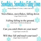 My kids love singing this Snowflakes song (to the tune of Twinkle, Twinkle Little Star) written by C and L Curriculum.     Free!