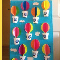 hor air balloon craft