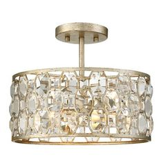 Laura 5-Light Semi-Flush Mount