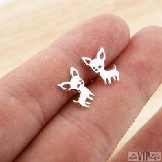 VIP - Chihuahua Earrings #Chihuahua