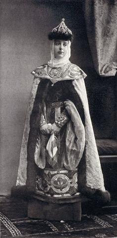 Madame Skoropadsky at the costume ball of 1903.....032 by klimbims on deviantART