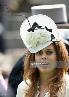 HRH Princess Beatrice walks around the parade ring on the first day of Royal Ascot 2009 at Ascot Racecourse on June 16, 2009 in Ascot, England.  (Photo by Chris Jackson/Getty Images)