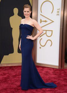 Amy Adams wearing @gucci Première with @tiffanyandco jewels – Oscars #2014
