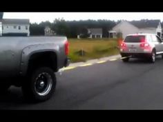 So what happens when a big bad Duramax Diesel truck plays tug of war with a soccer mom VW Touareg SUV with a TDI diesel? In the video above, you can see Chevy Duramax, Chevrolet Silverado, My Dream Car, Dream Cars, Vw Toureg, Tug Of War, Diesel Trucks, Cruise