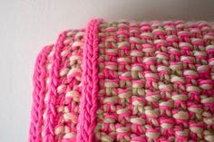 Eleventh Hour Marled Blanket | Purl Soho - Create